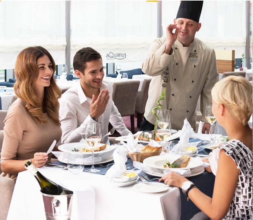 Restauracja Horyzont w Hotelu AQUARIUS SPA