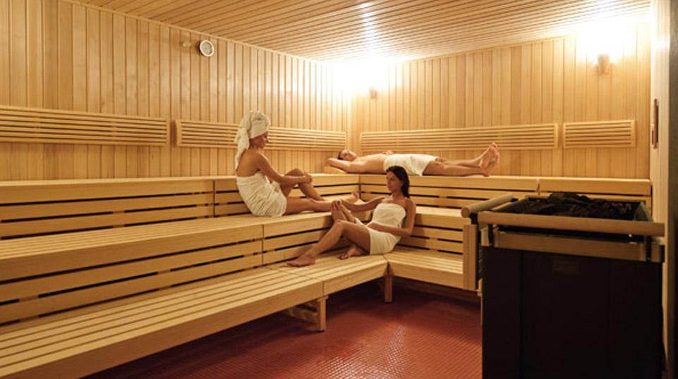 Sauna sucha w hotelu AQUARIUS SPA