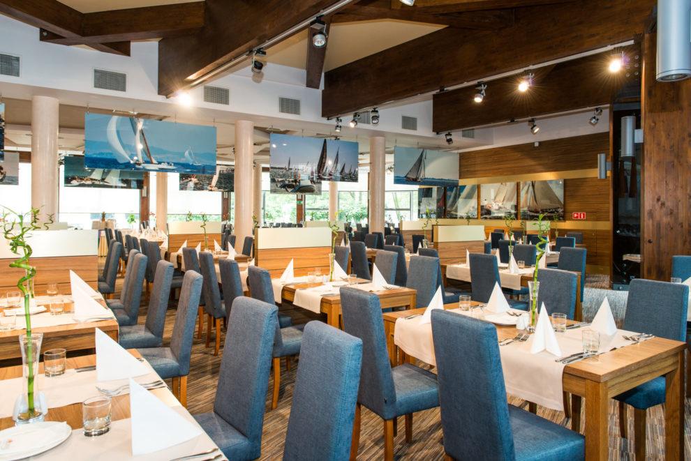 Część bufetowa restauracji Horyzont