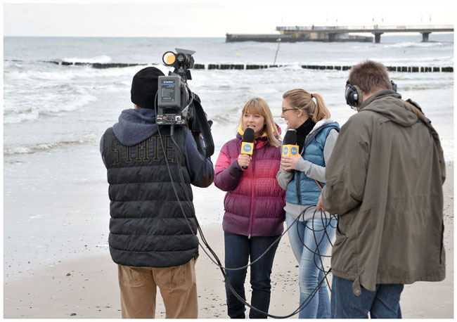 wywiad Kasi nad morzem