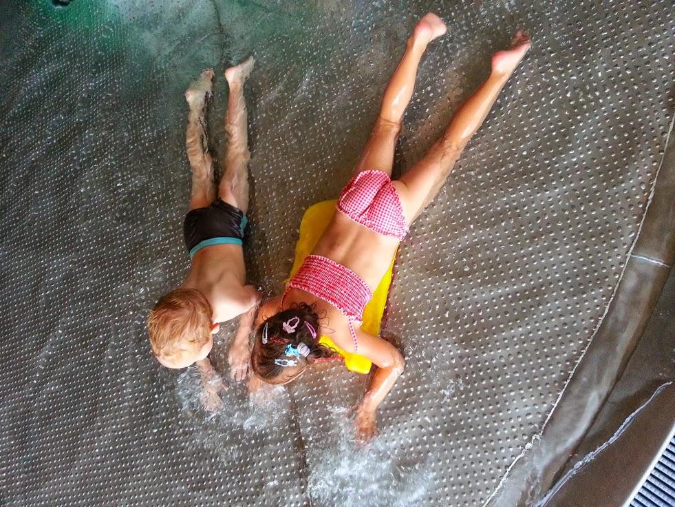 Brodzik dla dzieci w hotelu aquarius spa