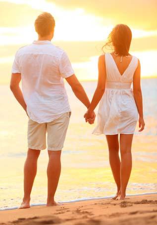 romantyczny weekend nad morzem