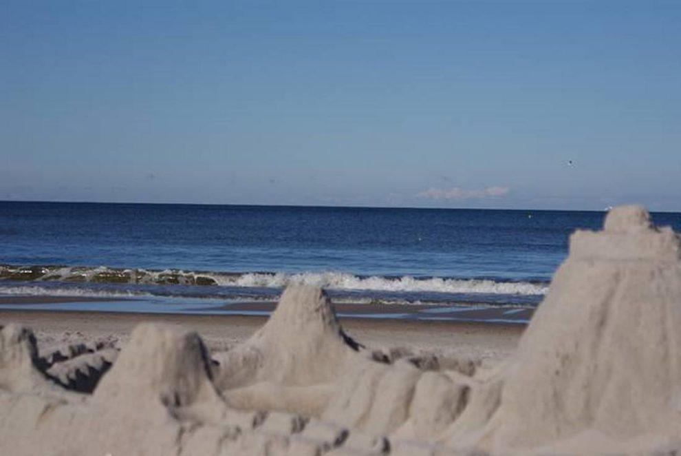budowanie zamków na plazy