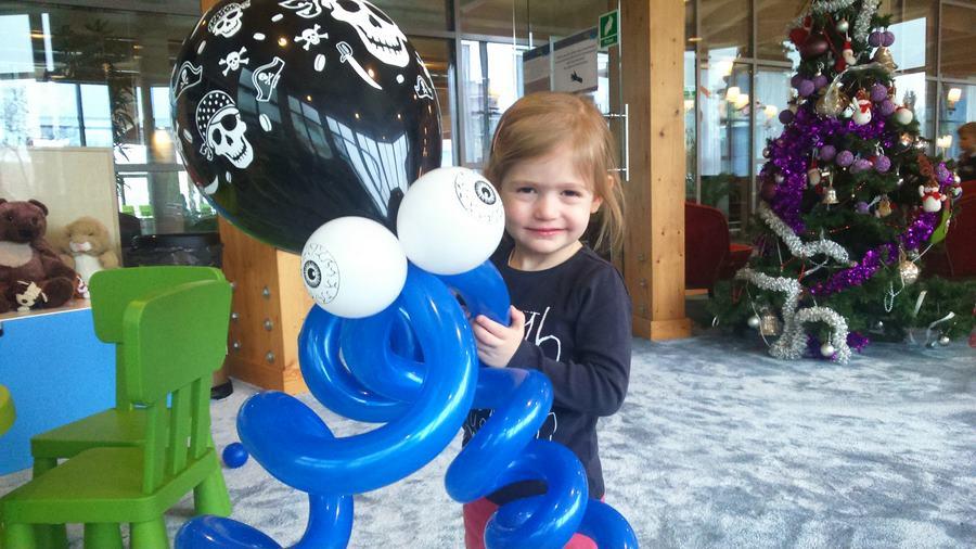 balonowe zabawy w ferie
