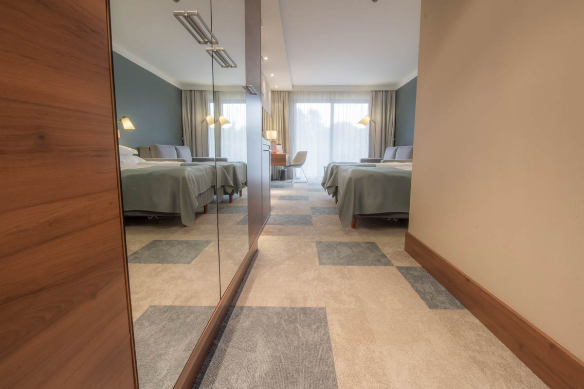 pokoje dla gości hotelowych nad morzem