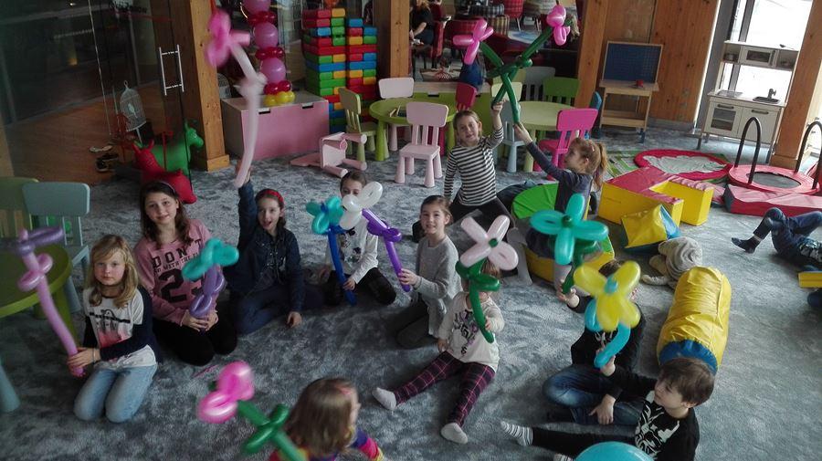 zabawy balonowe w hotelu