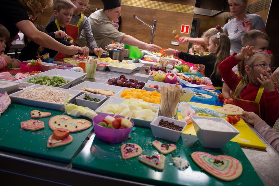 kulinarne wariacje roboione przez dzieci