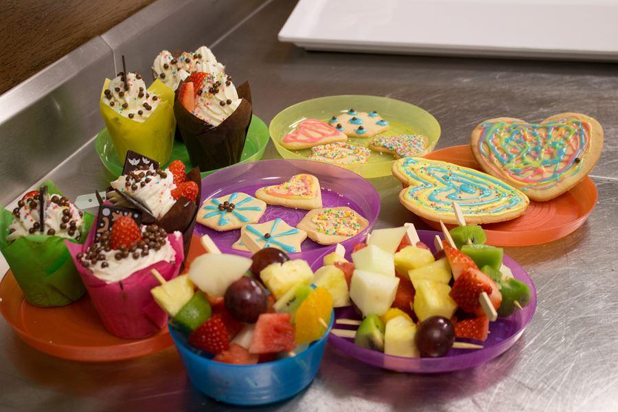 smakowitości robione przez dzieci