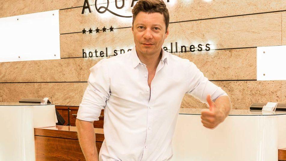 Mariusz Totoszko Gościem Hotelu AQUARIUS SPA