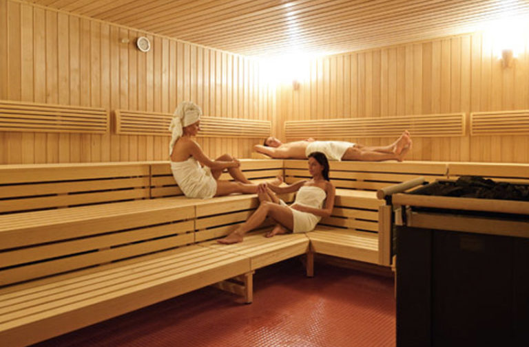 Sauna sucha w hotelu AQUARIUS SPA