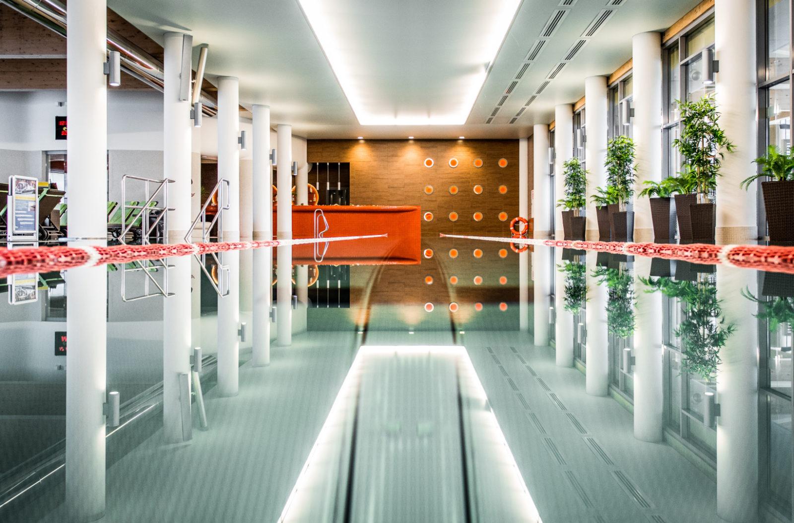 basen pływacki 25 m w Kołobrzegu