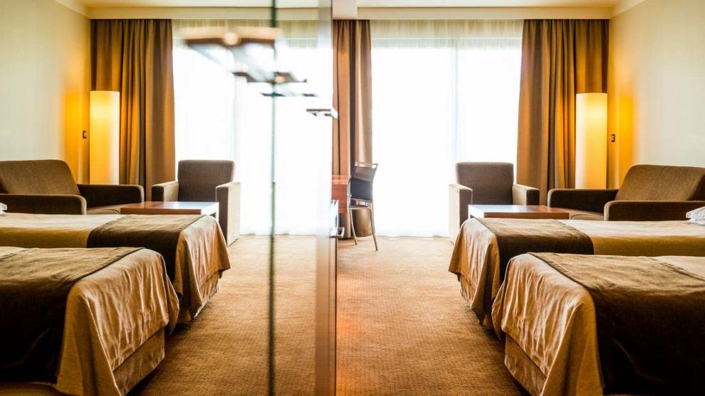 pokój w hotelu AQUARIUS SPA