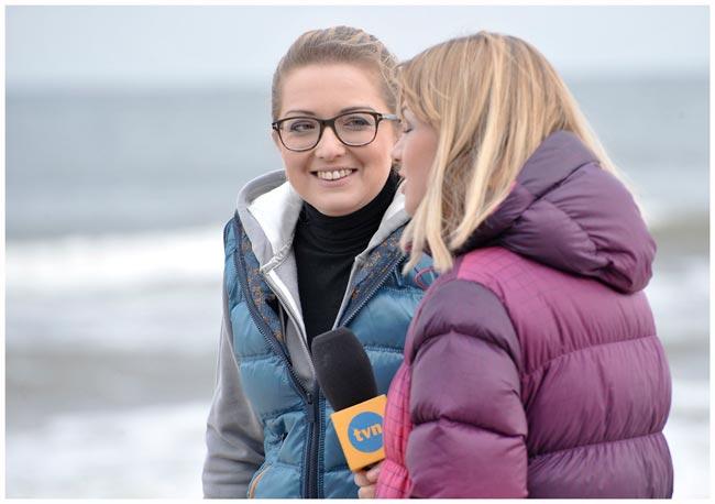wywiad w TVN