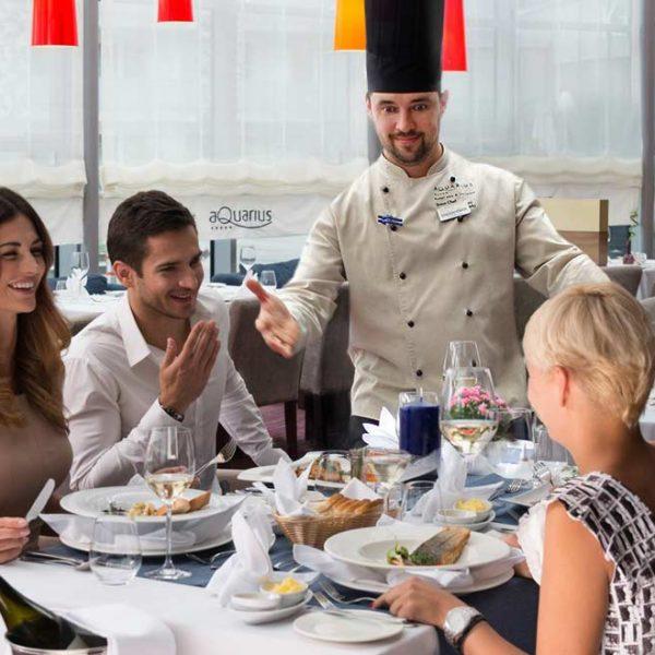 szef kuchni hotelu AQUARIUS SPA