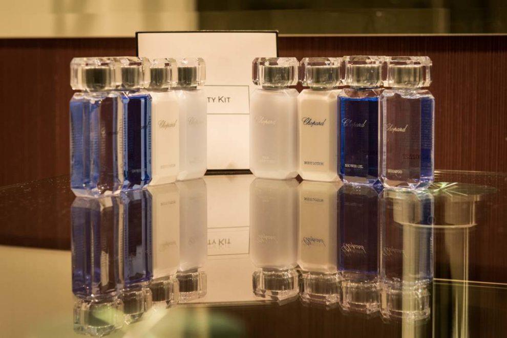 kosmetyki w apartamencie