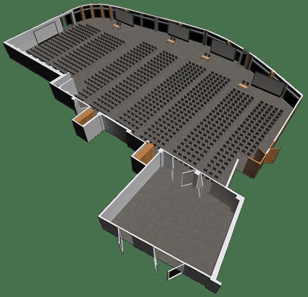 Sala konferencyjna LAGUNA - jedna duża sala