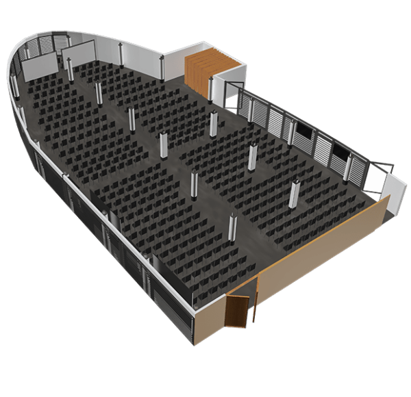 Sala konferencyjna Panorama - jedna duża sala