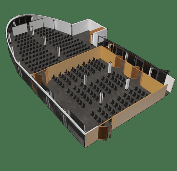 Sala konferencyjna panorama - podział na 2 sale