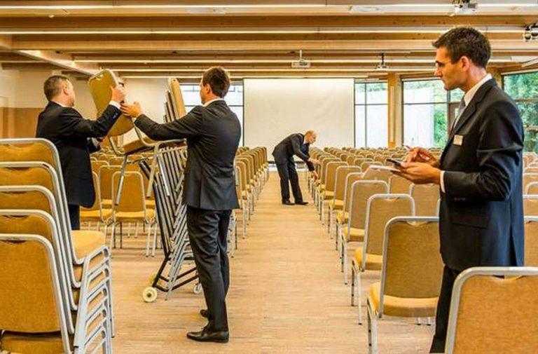 Ustawienie sali konferencyjnej