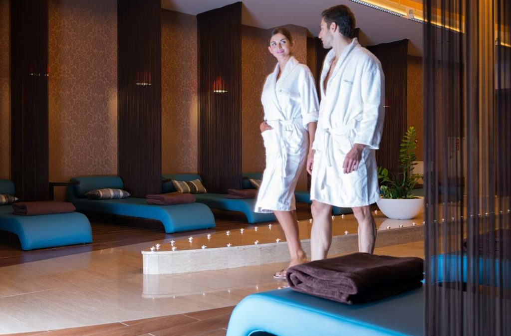 SPA w hotelu AQUARIUS SPA