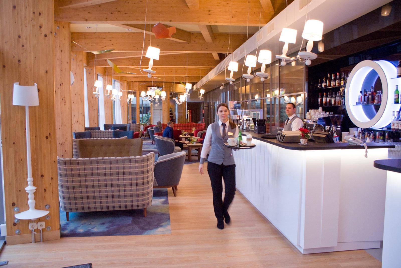 kawiarnia Wiatr i Woda w hotelu AQUARIUS SPA
