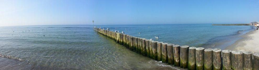 Piękny widok morza