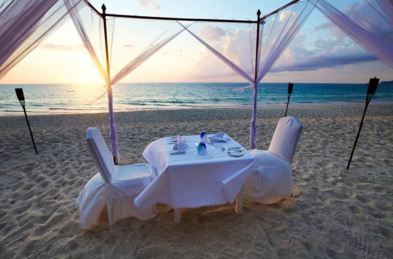 Supper on the beach
