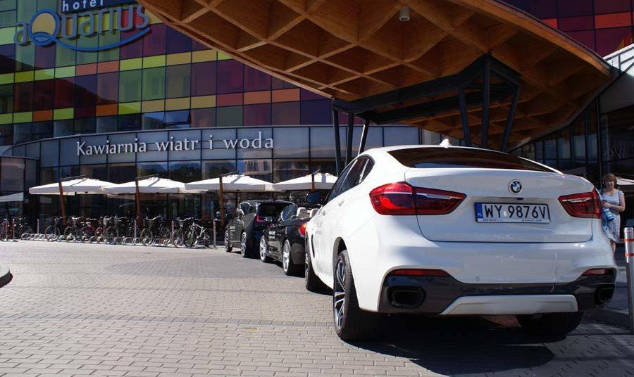 BMW jazda testowa w hotelu