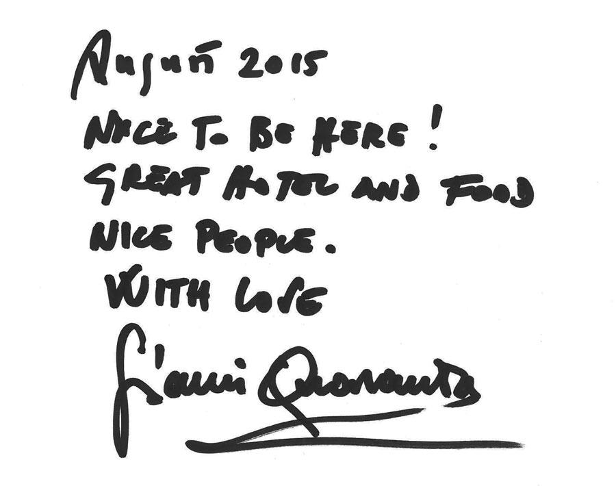 podpis Quaranta