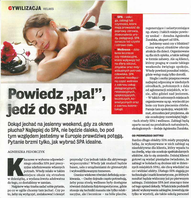 Gazeta WPROSTgdzie do SPA