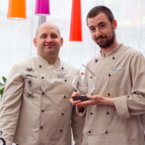 Wygrana w konkursie przez hotelowych kucharzy