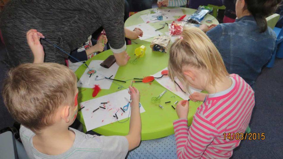 animacje dla dzieci - prace ręczne