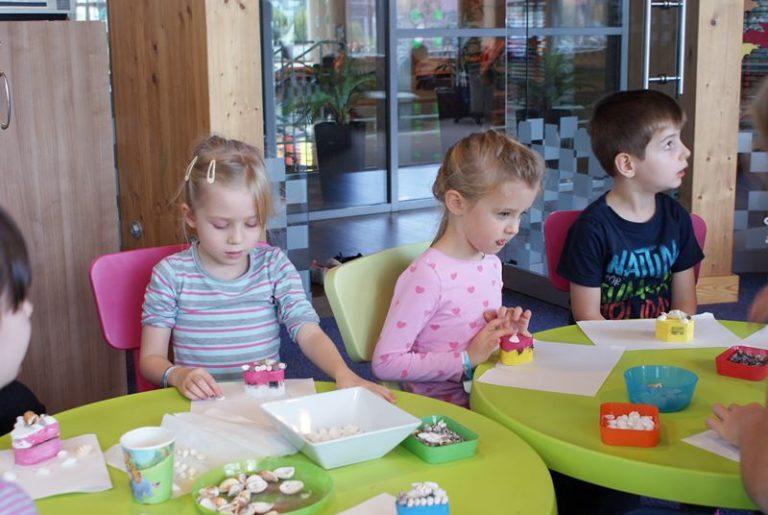 zajęcia plastyczne dla dzieci w hotelu