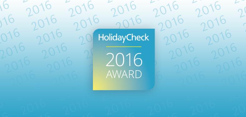 awards holidayCheck 2016