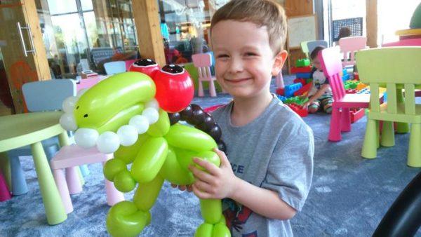 balonowe zwięrzątka