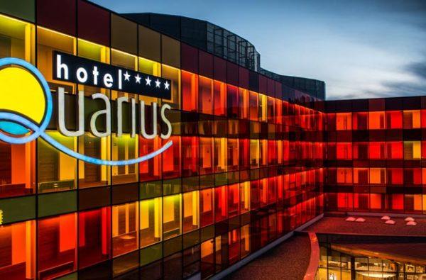 elewacja Hotelu AQAURIUS SPA
