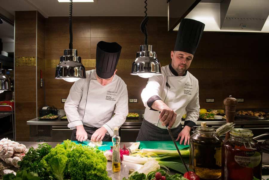 Hotelowa kuchnia