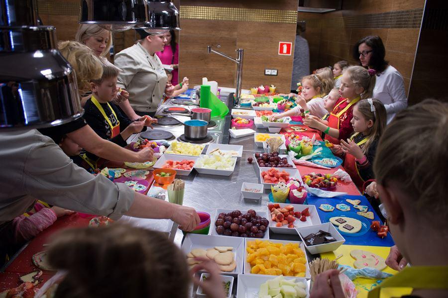 animacje kulinarne dla dzieci w ferie