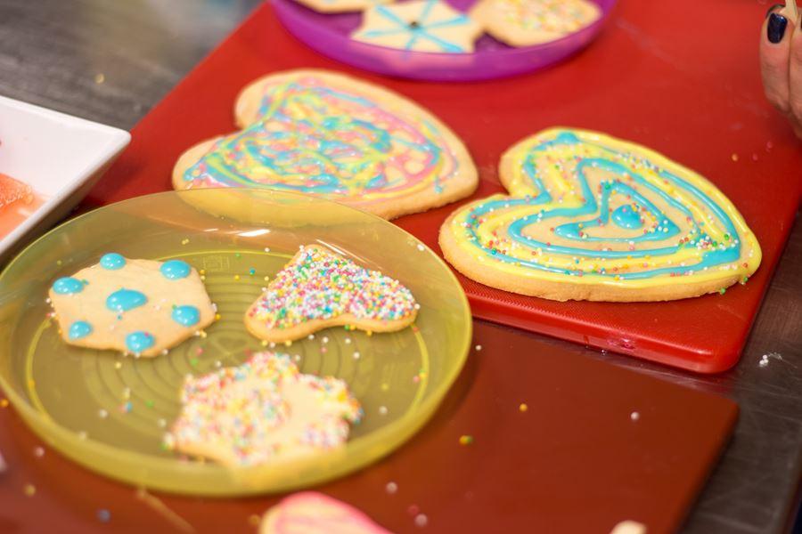ciasteczka robione przez dzieci