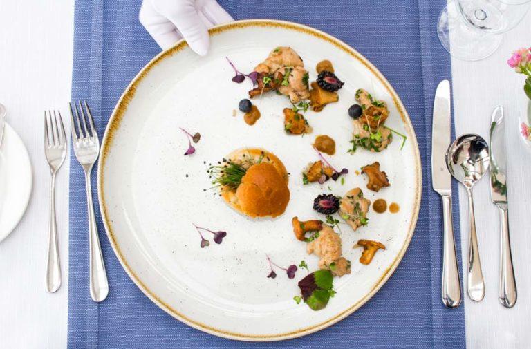 karta menu restauracji hotelu AQUARIUS SPA