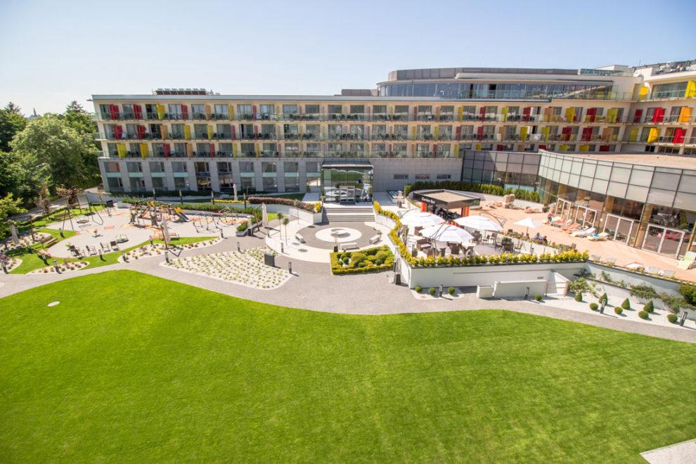 ogrod hotelowy