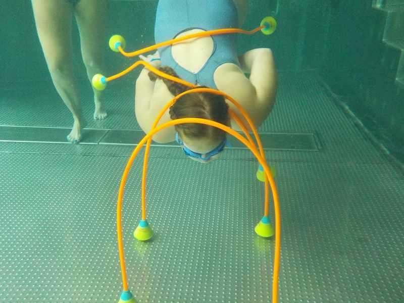 zabawy z dziećmi w basenie