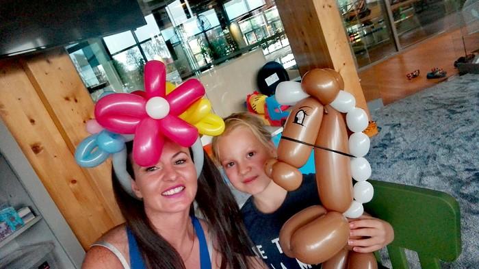 Animacje balonowe w hotelu