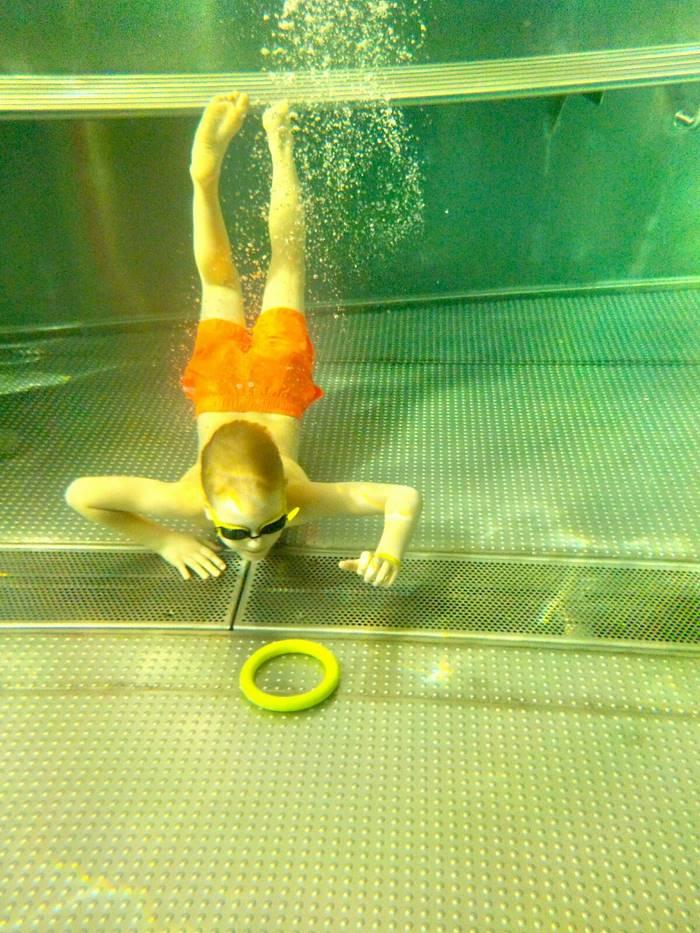 nauka przez zabawę w basenie