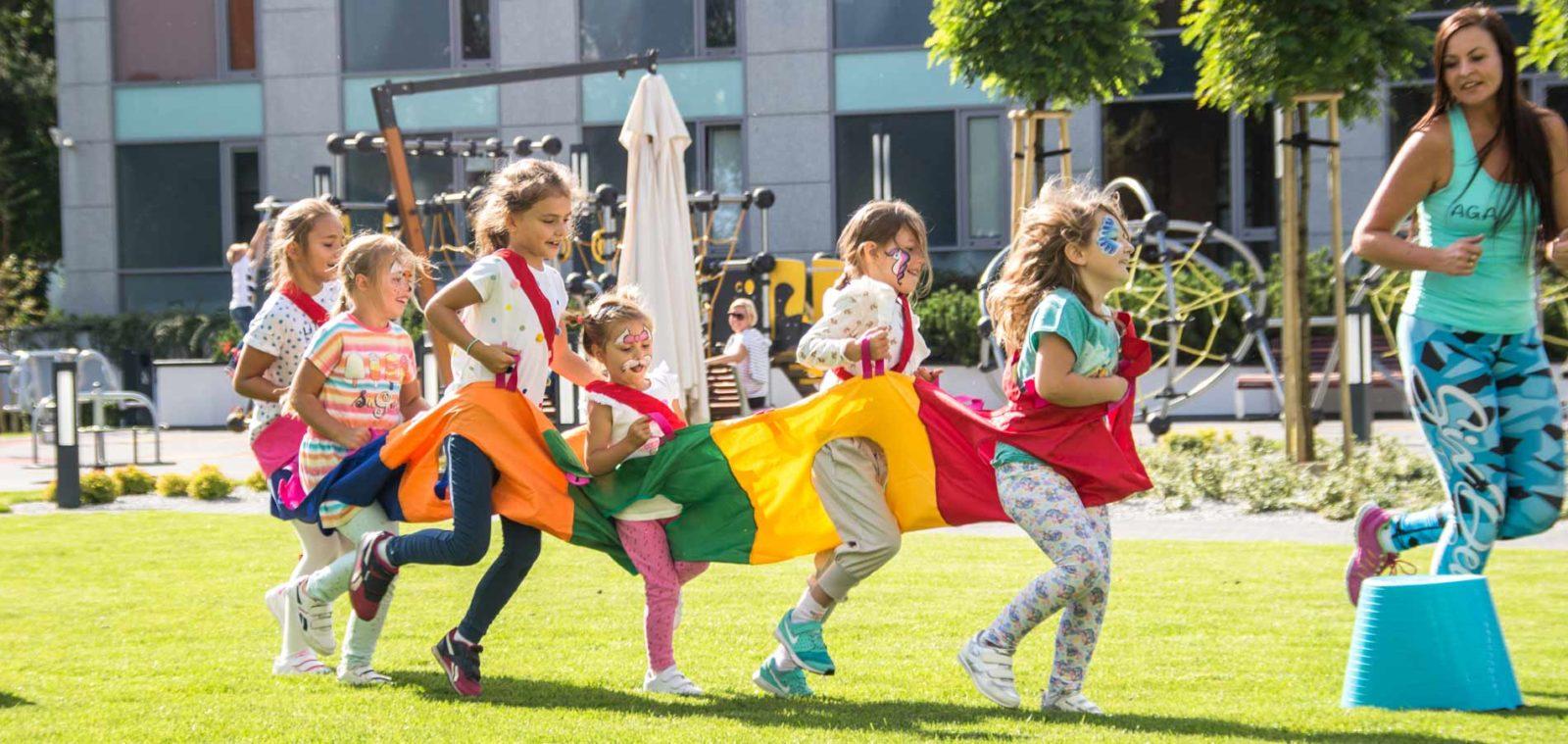 Dzieci w hotelu AQUARIUS SPA