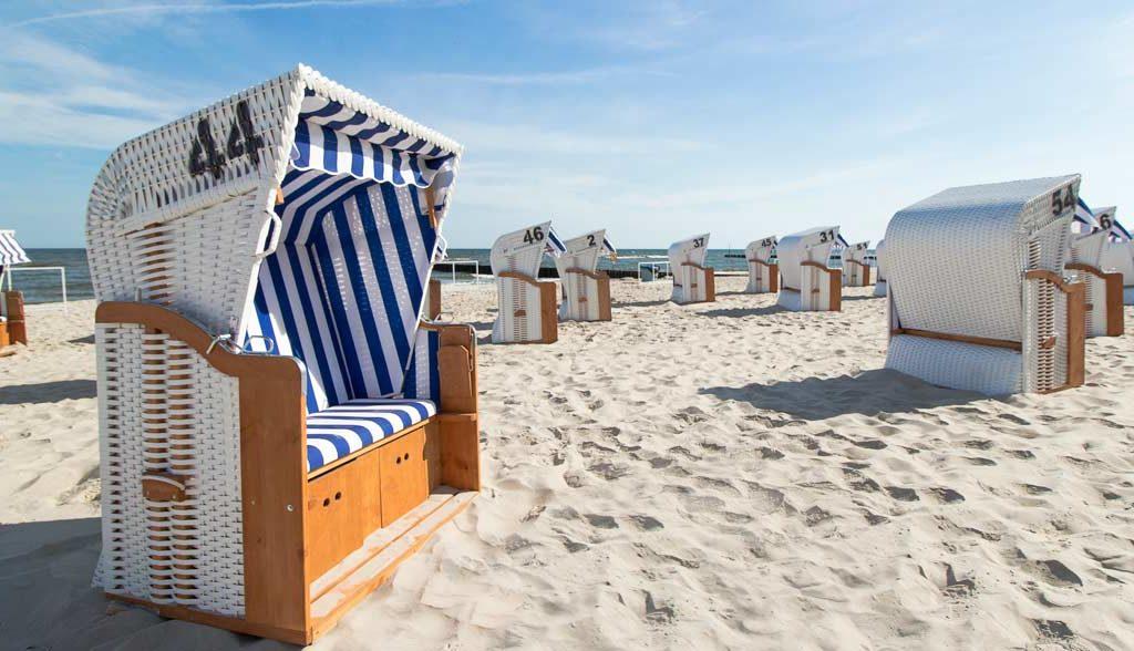 Hotelowa plaża