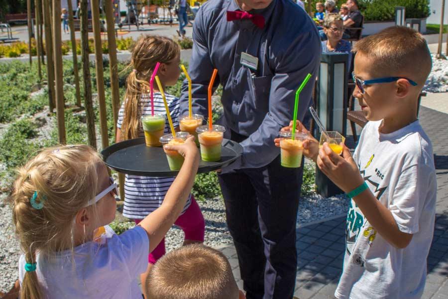 napoje dla dzieci - otwarcie wakacji 2018