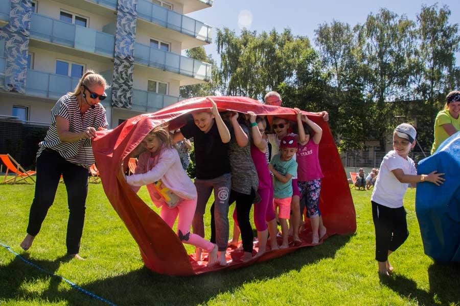 wyścig dzieci - otwarcie wakacji 2018