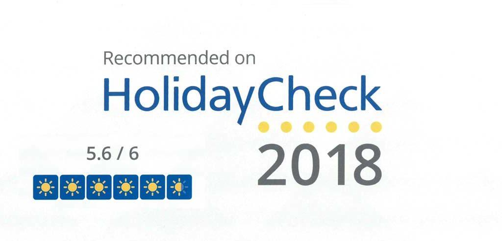 HolidayCheck 2018