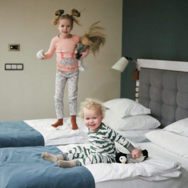 Nebule z rodziną w Hotelu AQUARIUS SPA nad morzem